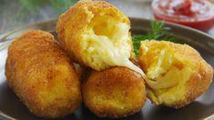 Mozzarella, Pizza Lover, Polish Recipes, Polish Food, Baked Potato, Muffin, Breakfast, Ethnic Recipes, Pierced Earrings