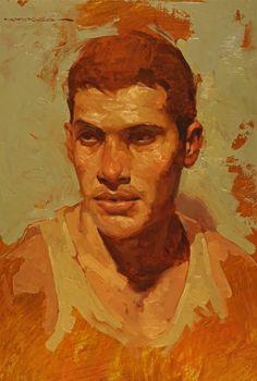 BOY STUDY, by Joseph Lorusso (b1966 Chicago, IL)