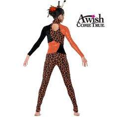 Giraffe - Child - Character Dance Costume