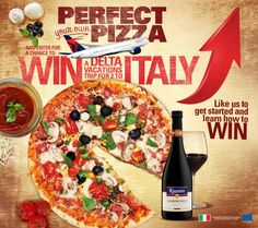 Win a Trip to Italy with your partner!