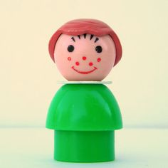 Vintage Fisher Price Little People Green Girl with Brown Hair and Freckles on Etsy, Sold Brown Hair And Freckles, Girl With Brown Hair, Little People, Little Girls, Toddler Girl Style, Green Girl, Vintage Fisher Price, Green Dress, Cool Style