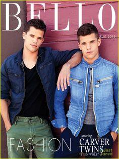 Max & Charlie Carver: 'Bello' Boys | max charlie carver bello fashion feature 02 - Photo