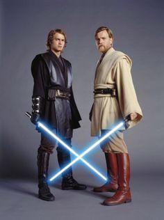 Anakin and Obi-Wan Kenobi