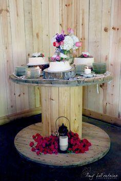 The Farm at Brusharbor  Rustic Wedding & Event Venue  Mount Pleasant, NC  www.TheFarmatBrusharbor.com    #rusticweddingchic #barnwedding #NCWedding #woodenspool