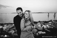 Portland Maine Engagement Session  Bethany and Dan Photography www.bethanydan.com All Rights Reserved