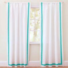 Grosgrain curtains