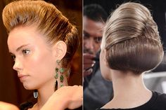 Spring 2014 Runway Beauty - Hair, Makeup and Nails from New York Fashion Week Spring 2014 - Harper's BAZAAR