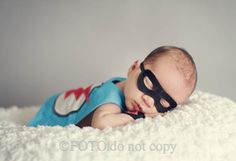 Superhero Newborn Set