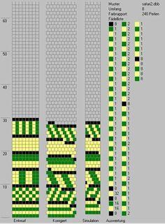 Schlauchketten häkeln - Musterbibliothek: safari2