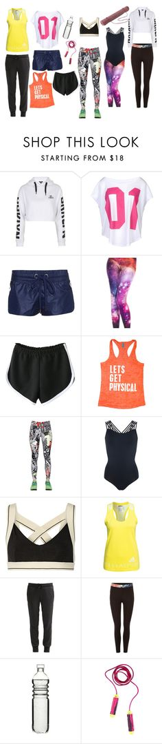 """""""Fitness Wear Types"""" by nicollelimshuyan on Polyvore featuring Topshop, NIKE, No Ka'Oi, WithChic, Reebok, Pepper & Mayne, OLYMPIA Activewear, StellaSport, adidas and Ted Baker"""