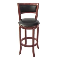 FREE SHIPPING! Shop Wayfair for Wildon Home ® Vinyl 30 Swivel Bar Stool with Cushion - Great Deals on all Furniture products with the best selection to choose from!