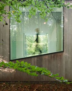 Villa Roces is a minimal home located in Belgium, designed by Govaert & Vanhoutte.