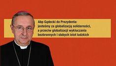 Przeciw wykluczaniu najsłabszych - abp Gądecki do prezydenta RP w sprawie podpisania ustawy in vitro