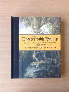 Cover of An Indescribable Beauty by Friedrich Krull, published 2012 by Awa Press, design by Greg Simpson.