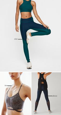 Workout Clothes That Are Stylish and Functional #yoga #style