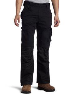 Caterpillar Men's TM Trouser w Holster Pockets, Black, 34…