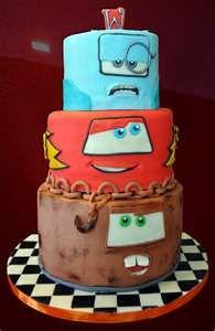 Cute cars cake