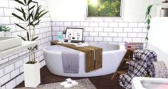 Vintage Attic Bathroom at Liney Sims - The Sims 4 Catalog
