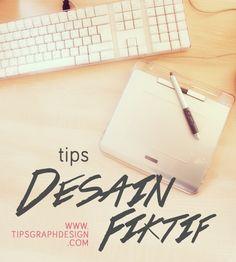 """""""Tips: Desain Fiktif""""  Gimana cara dapetin klien kalo gak punya portfolio sama sekali? Atau merasa portfoliomu kurang 'menjual'? Simak tips membuat desain fiktif di sini!"""