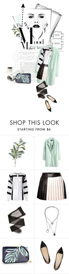 """""""The Mood Maker"""" by valeria5 ❤ liked on Polyvore featuring Pier 1 Imports, Post-It, Chloé, FAUSTO PUGLISI, Maison Margiela, Maiyet and Jimmy Choo"""