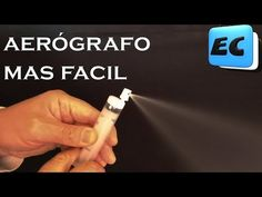 How to make the simplest airbrush in the world, without compressor and without blowing