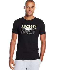 Lacoste Sport Graphic T-Shirt