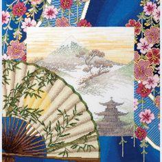 Japanese Ambiente - handwerkpakket met telpatroon Royal Paris