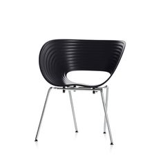 TOM VAC STACKING CHAIR BY RON ARAD (BLACK)