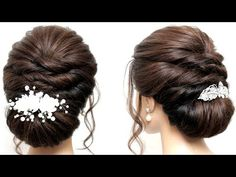 Prom Hairstyles For Short Hair, Prom Hair Updo, Bun Hairstyles For Long Hair, Short Hair Updo, Party Hairstyles, Formal Hairstyles, Bride Hairstyles, Long Hair Wedding Styles, Short Hair Styles