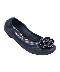 With fun snap-on flair, these feminine flats are always ready for a chic change-up. The hand-designed embellishment atop the toes can be swapped with any Lindsay Phillips accessory for a quick switch of style. Man-madeImported