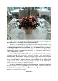 Restauracja - Astoria Romantica