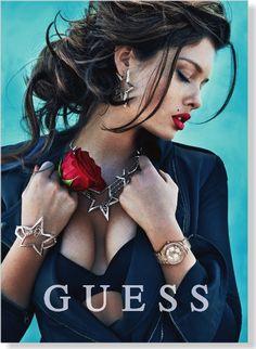 Seguici !!! hermans lo stile è la veste del pensiero Guess.... fashion glamour chic