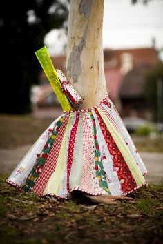 CHRISTMAS TREE SKIRT-Pattern - Material Obsession