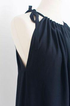 Fashiontamtam-schwarzesMaxikleid-Neckholder-langesKleid-Maternity-818-10