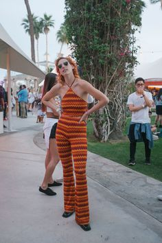 The Best Street Style Looks from Coachella 2015