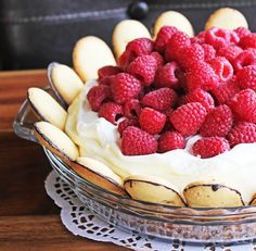 White Chocolate Silk Pie with Raspberries and Milano Cookie Crust