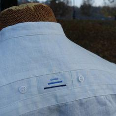 """pánská lněná košile """"stewardka"""", bílý len Mens Shirt Pattern, Gents Kurta Design, Fashion Suits, Kurta Designs, Mens Suits, Chef Jackets, Cotton, Shirts, Men's Shirts"""