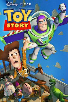 """November 22 - The first ever full length computer animated feature film """"Toy Story"""" was released by Pixar Animation Studios and Walt Disney Pictures. Disney Pixar, Film Disney, Disney Movies, Childhood Movies, 90s Movies, Pixar Movies, Great Movies, Animation Movies, Cartoon Movies"""
