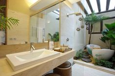 Bathroom - tropical - bathroom - other metro - Eduarda Correa Arquitetura & Interiores