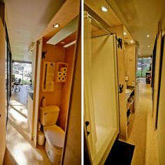 THE HAB TINY CONTAINER HOME | THE CASA CLUB Container Homes Cost, Shipping Container Home Designs, Building A Container Home, Container Cabin, Container House Design, Tiny House Design, Shipping Containers, Cargo Container, Container Gardening