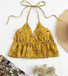 Teen Fashion Outfits, Chic Outfits, Diy Fashion, Crop Top Outfits, Summer Outfits, Western Outfits, Trendy Tops, Creations, Clothes For Women