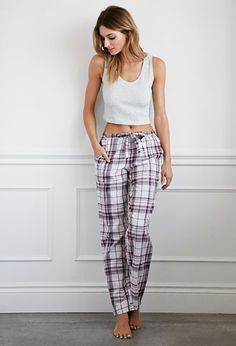 Forever 21 is the authority on fashion & the go-to retailer for the latest trends, styles & the hottest deals. Best Pajamas, Cute Pajamas, Pajamas Women, Cute Sleepwear, Loungewear, Pj Pants, Pants Outfit, Satin Pyjama Set, Pajama Set