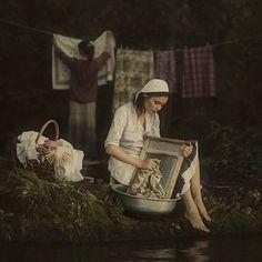 Laundry by David Dubnitskyi