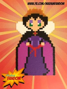 EVIL QUEEN Magnet or Ornament (Perler Beads) by MadamFandom  - ***This is an original Madam Fandom design!*** http://www.fb.com/MadamFandom