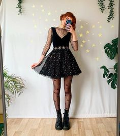6 or * * Komplette Outfits, Casual Outfits, Fashion Outfits, Womens Fashion, Black Rocks, Looks Black, Tyler The Creator, Look Vintage, Glam Rock