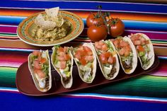 Out of the oven, all filled and garnished... These soft tacos are ready for the taste buds! The Taco Rack turns anyone into a great taco chef, designed to please your family and impress your friends as well!