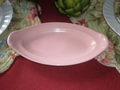 Antique Vintage LuRay Pastels Pickle Dish Rare by NeldaMaesCloset, $14.50