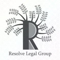 """The real law firm """"R"""" logo by Serdal Sert"""