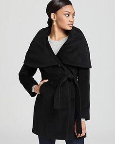 Elie Tahari Janine Shawl Collar Coat | Bloomingdale's