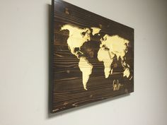 World map wall art wooden world map carved custom quote wedding gift world map wall art wooden world map carved custom quote wedding gift name sign guestbook housewarming present x pinterest signs wedding and world gumiabroncs Choice Image